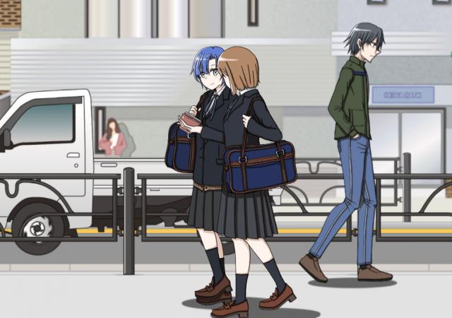 街歩きアニメーション(Demo)