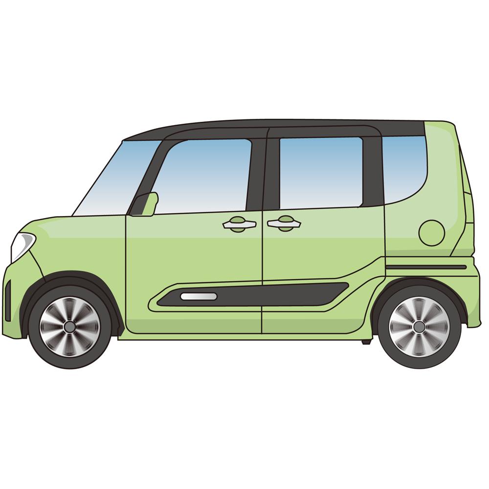 自動車平面イラスト